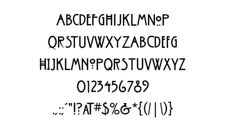 American Horror Story Font Family Download