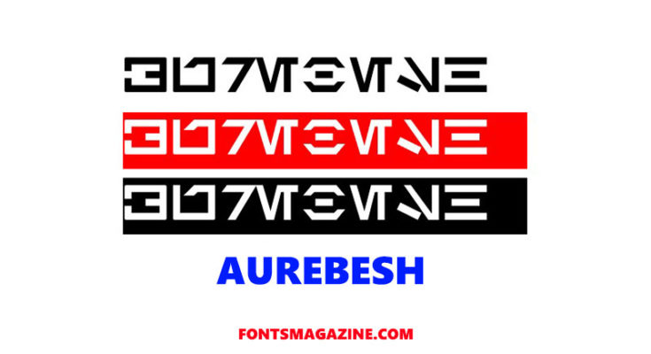 Aurebesh Font Family Free Download