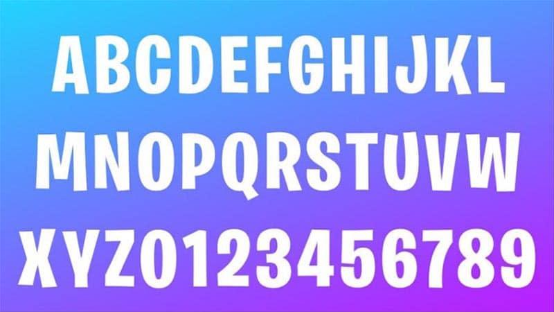 Fortnite Username Font Fortnite Logo Font Download The Fonts Magazine