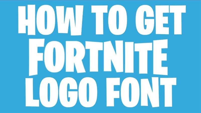 Fortnite Logo Font Download The Fonts Magazine Download fortnite font family from here by a single click. fortnite logo font download the fonts