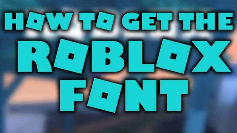 Roblox Font Download The Fonts Magazine