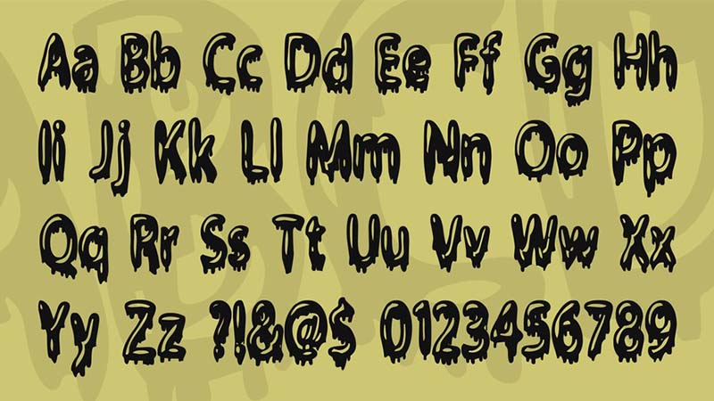 Gloop Font Free Download