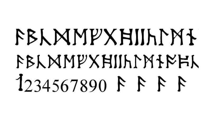 Moon Runes Font