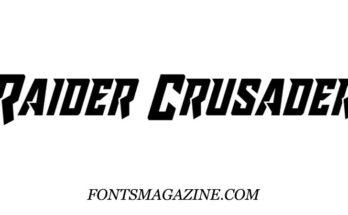 Raider Crusader Font Family Free Download