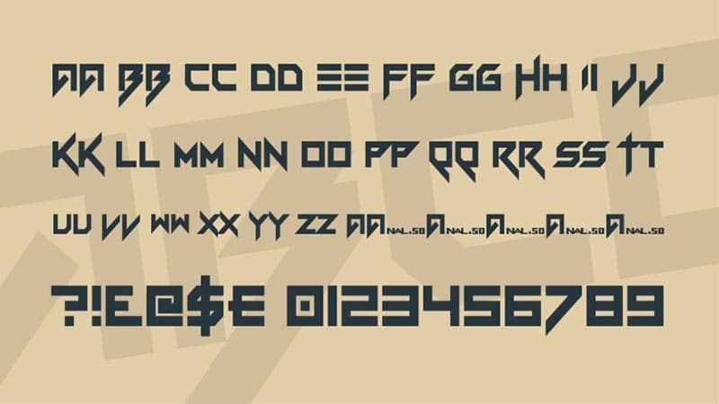 Vermin Vibes Font Free Download