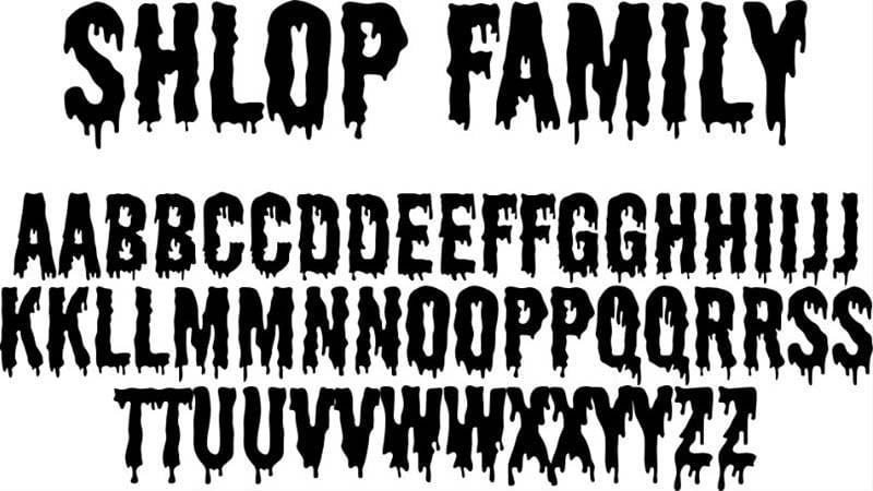 Shlop Font Family Download