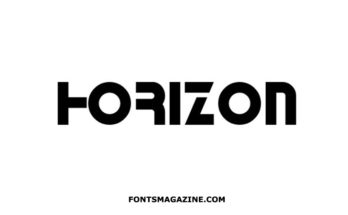 Horizon Font Family Free Download