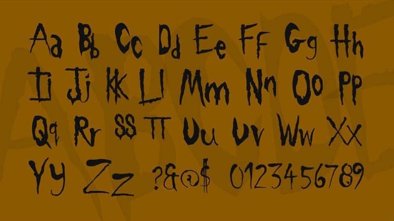 Slipknot Font Family Download
