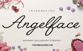 Angelface Font Family Free Download
