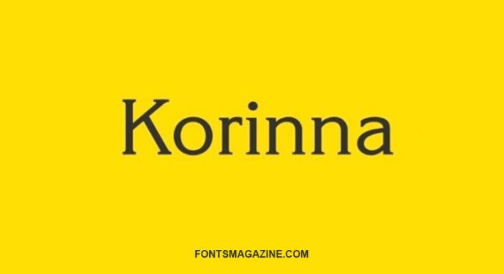 Korinna Font Family Free Download