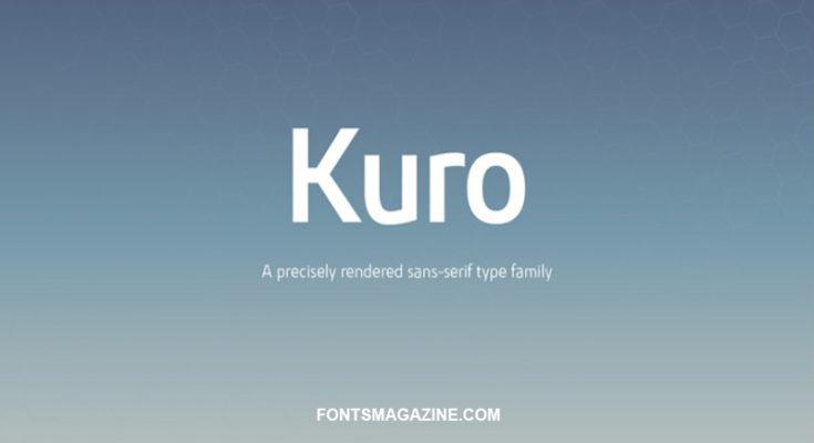 Kuro Font Family Free Download