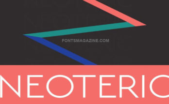 Neoteric Font Family Free Download