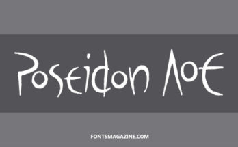 Poseidon Font Family Free Download