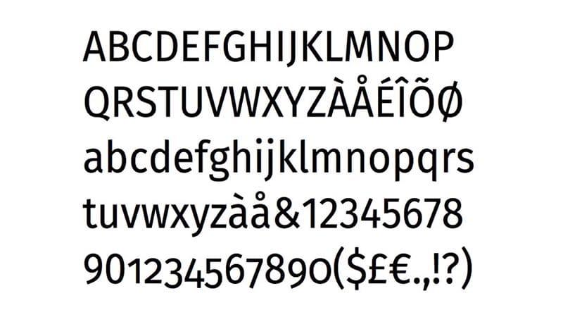 Fira Sans Font Free Download