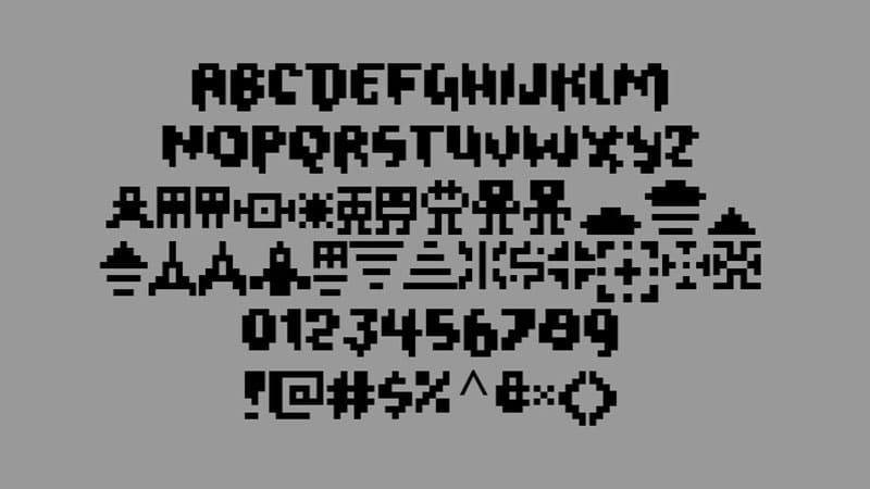 Geometry Dash Font Family Download