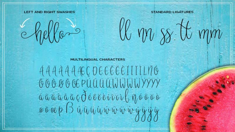 Melonade Font Family Download