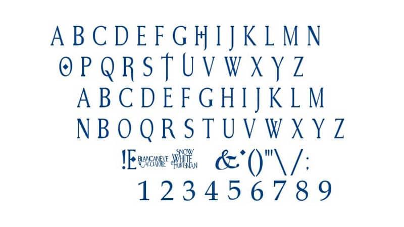 Snow White Font Free Download
