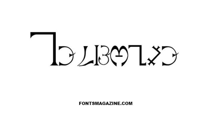 Enochian Font Family Free Download