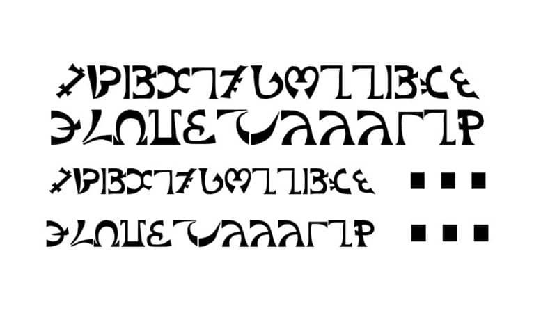 Enochian Font Family Download