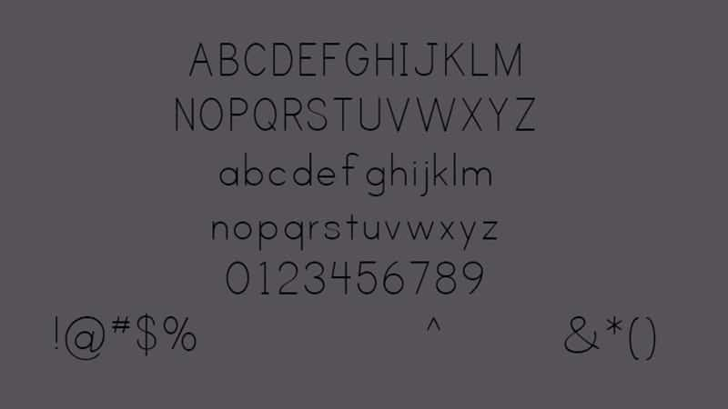 Print Clearly Font Free Download