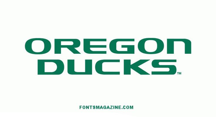 Oregon Ducks Font Family Free Downlaod