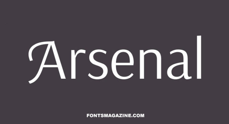 Arsenal Font Family Free Download