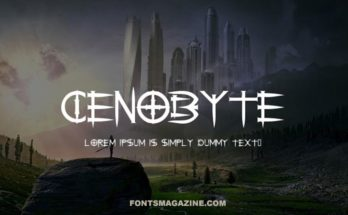 Cenobyte Font Family Free Download