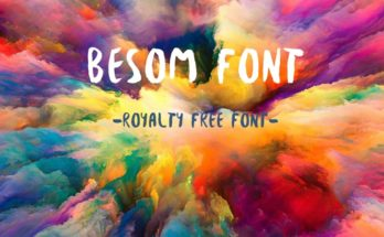 Besom Font Family Free Download
