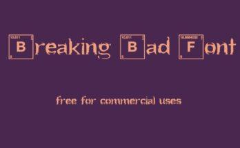 Breaking Bad Font Free Download