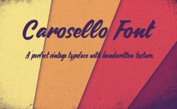 Carosello Font Family Free Download