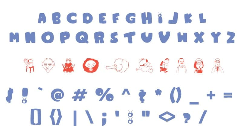 Family Guy Font Download