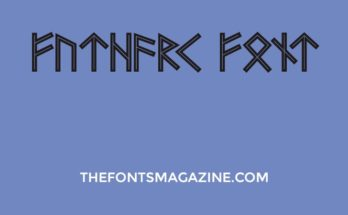 Futhark Font Family Free Download