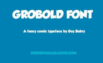 Grobold Font Family Free Download