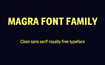 Magra Font Family Free Download