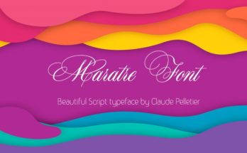 Maratre Font Family Free Download