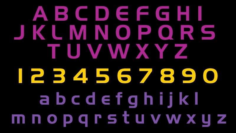 Mass Effect Logo Font Free Download