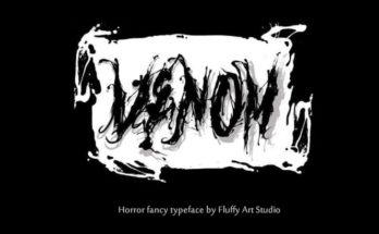 Venom Font Family Free Download