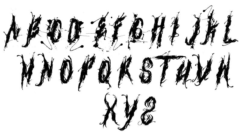 Venom Font Free Download