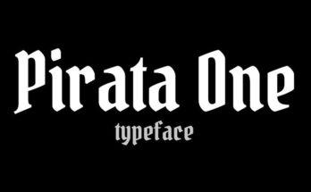 Pirata One Font Family Free Download