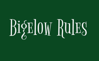 Bigelow Rules Font Family Free Download