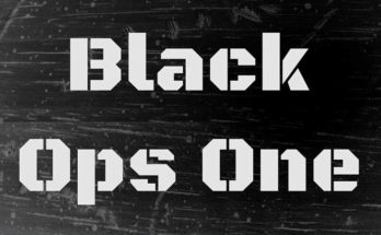Black Ops Font Family Free Download