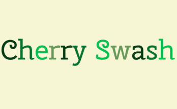 Cherry Swash Font Family Free Download