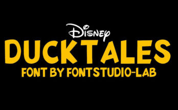 Duck Tales Font Family Free Download