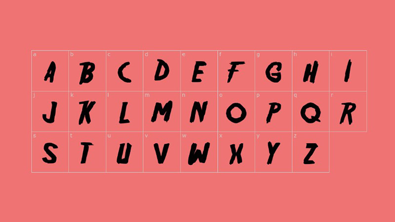 Friday The 13th Font Family Download