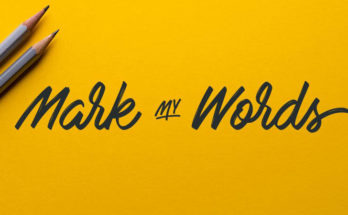 Mark My Words Font Family Free Download