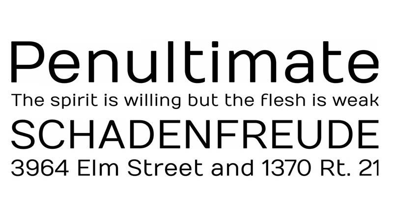Numans Font Family Download