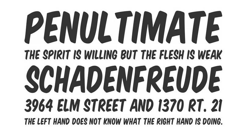 Shopkins Font Family Download