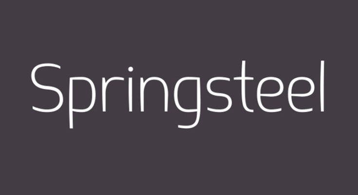 Springsteel Font Family Free Download