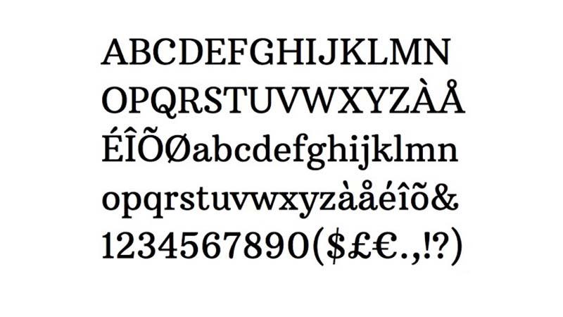 Arbutus Slab Font Free Download