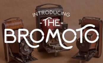 Bromoto Font Family Free Download